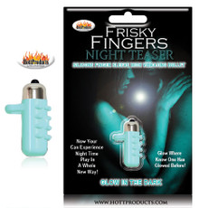 FRISKY FINGERS GLOW IN THE DARK