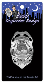 BOOB INSPECTOR BADGE