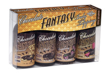 CHOCOLATE FANTASY BODY TOPPING SAMPLER 4 PACK