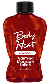 BODY HEAT WARMING MASSAGE LOTION CINNAMON