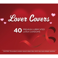 LOVER COVERS 40PC CONTAINER