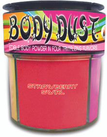 BODY DUST 4 ASSORTED FLAVORS