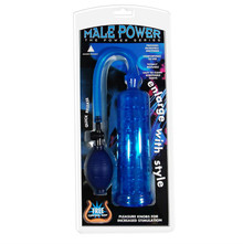 MALE POWER PUMP BLUE