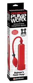PUMP WORX BEGINNERS POWER PUMP RED
