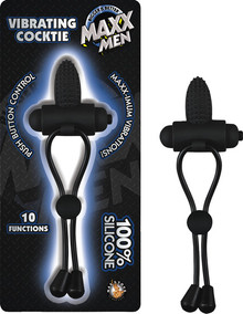 COCKTIE VIBRATING BLACK