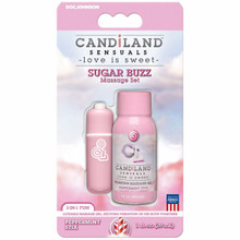 CANDILAND SUGAR BUZZ MASSAGE SET PEPPERMINT STIX