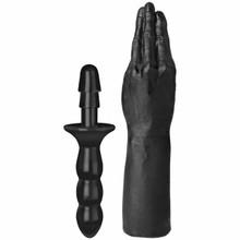 TITANMEN HAND W/VAC U LOCK BLACK