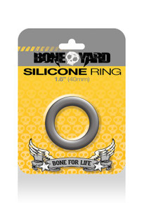 BONEYARD SILICONE RING 40MM GREY
