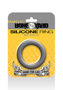 BONEYARD SILICONE RING 50MM GREY