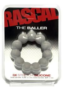 RASCAL STARTER KIT BALLER COCK RING GREY