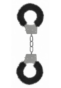 BEGINNER'S HANDCUFFS FURRY BLACK