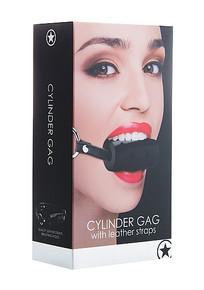 CYLINDER GAG BLACK