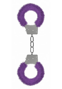 BEGINNER'S HANDCUFFS FURRY PURPLE