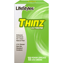 LIFESTYLES THINZ EXTREME 10 PK