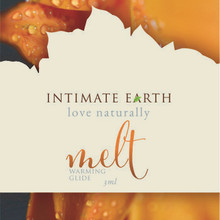 INTIMATE EARTH MELT WARMING GLIDE FOIL PACK (EACHES)