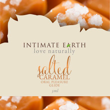 INTIMATE EARTH SALTED CARAMEL FOIL PACK (EACHES)