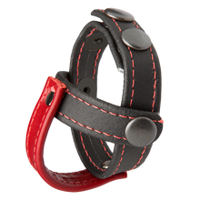 KINK LEATHER SUB PRESENTER BLACK & RED