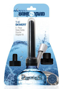 BONEYARD SKWERT 5 PC WATER BOTTLE DOUCHE ADAPTER KIT