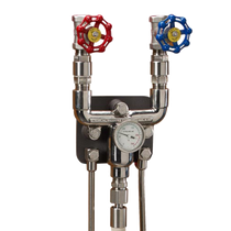 Stainless - Hot & Cold Mixer