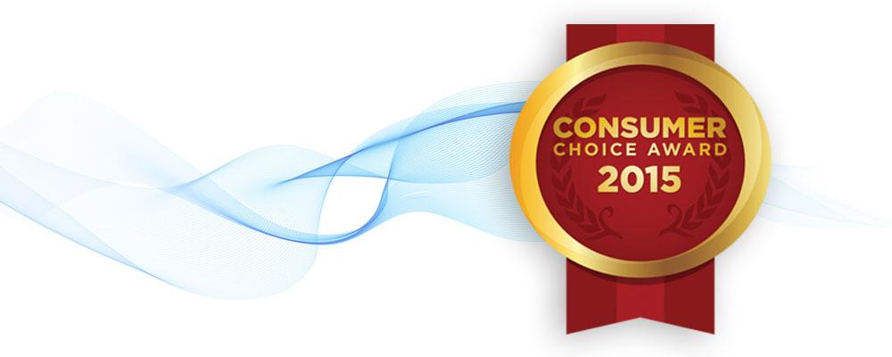 Consumers Choice Award 2015