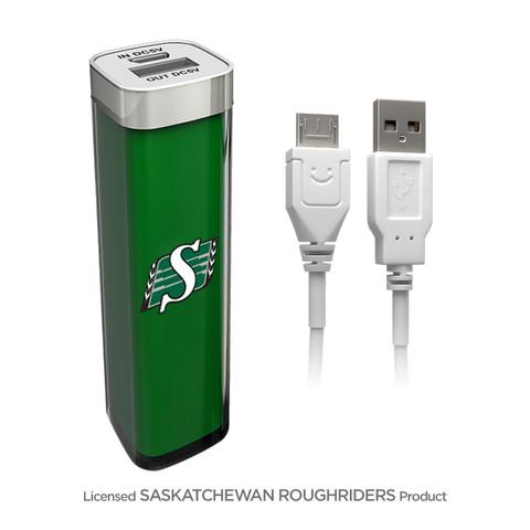PowerBox Backup Battery 2600mAh – Saskatchewan Roughriders | Cable