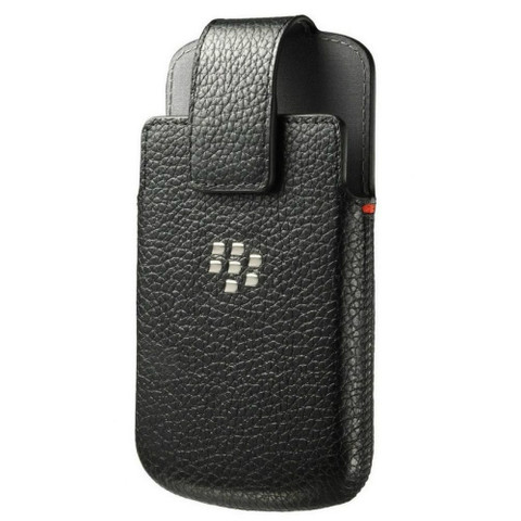 Blackberry Classic Leather Swivel Holster | Front
