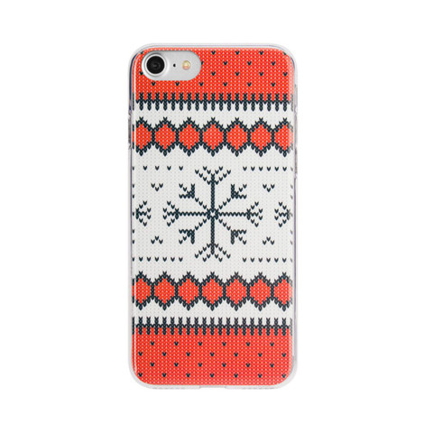 Ugly Xmas Sweater Red - iPhone 7