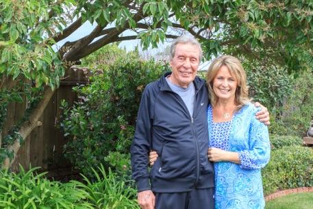 Jackie Mendizabal and her dad, Robert Jimenez