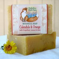 Calendula and Orange Botanical Soap