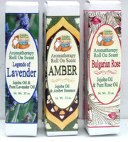 Foxhollow Herb Farm Natural Roll On Aromatherapy