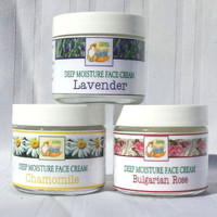 Foxhollow Herb Farm Deep Moisture Face Creams