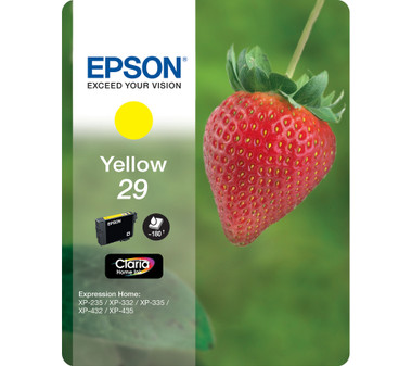 Epson 29 Claria Ink Cartridge - Standard Yellow