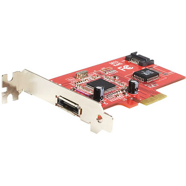 Startech.com 2 Port PCI-Express eSATA / SATA Card (1 Internal, 1 External)