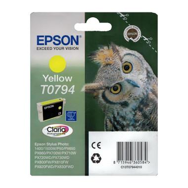 Epson T0794 STYLUS PHOTO High Capacity Yellow Ink