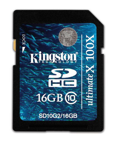 Kingston 16GB Full Size SDHC Class 10 Flash