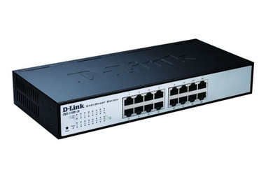 D-LINK DES-1100 16-port 10/100Mbps Easy Smart Switch