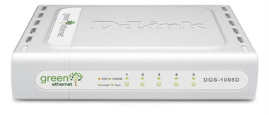 D-Link DGS-1005D - 5-Port Gigabit Green Ethernet Switch