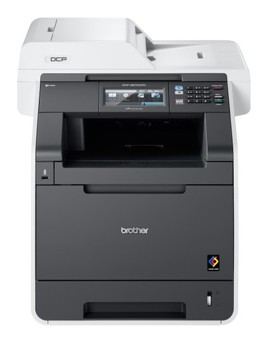 -Brother DCP-9270CDN Network Ready Colour Laser All-In-One Printer