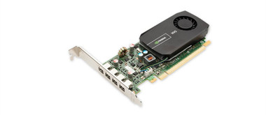 PNY VCNVS510DP-PB Quadro NVS 510 Graphics Card (PCI-Express x16, 4-Port Outputs, LP Card)