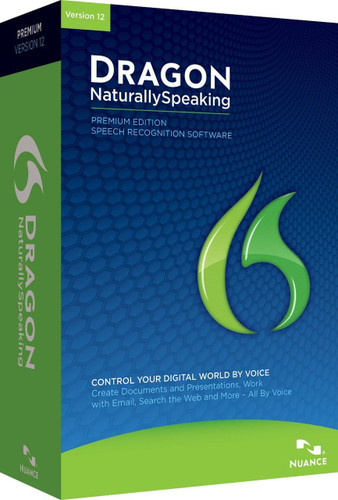 Dragon NaturallySpeaking Premium 12.0 (PC) (DVD-ROM)