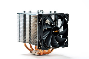 be quiet! BK013 Shadow Rock 2 CPU Cooler Fan Single Turn 4 Heat Pipes 8 mm