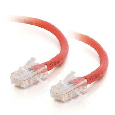 C2G 2m Cat5E 350MHz Non-Booted Assembled Patch Cable - Red