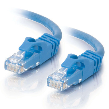 C2G 0.3m Cat6 Booted Unshielded (UTP) Network Patch Cable - Blue