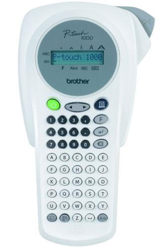 -Brother PT-1000 Handheld Label Printer