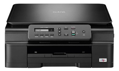 -Brother DCP-J132W A4 All-In-One Colour Multifunction Wireless Inkjet Printer