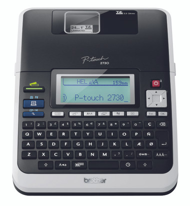 -Brother PT-2730VP - PC Plug and Print Labelling Machine (£30 Cashback available from Brother Until the end of January)