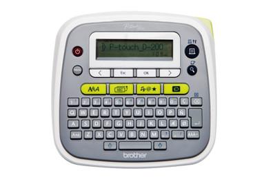 -Brother PT-D200VP Desktop Label Printer Labelling Machine 20mm per second 9 character sizes