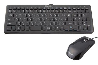 Shuttle Kb40 Black Keyboard And Mouse combination Pack