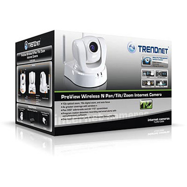 TRENDnet ProView Wireless Pan/Tilt/Zoom Internet Camera