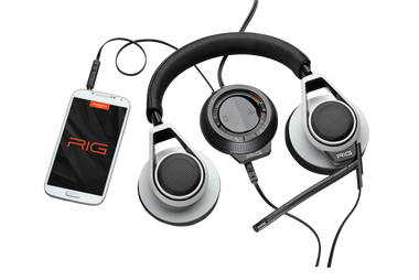 Plantronics RIG Stereo Headset and Mixer - White